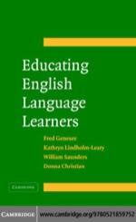 """Educating English Language Learners"" (9780511145131)"