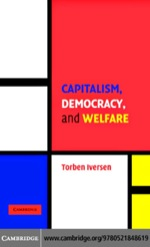 """Capitalism, Democracy, and Welfare"" (9780511158964)"