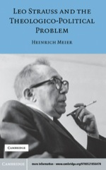 """Leo Strauss and the Theologico-Political Problem"" (9780511159350)"