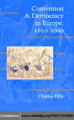 """""""Contention and Democracy in Europe, 1650–2000"""" (9780511162251)"""