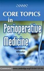 """""""Core Topics in Perioperative Medicine"""" (9780511162312)"""