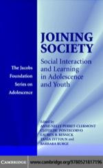 """""""Joining Society"""" (9780511162367)"""