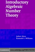 """""""Introductory Algebraic Number Theory"""" (9780511162541)"""