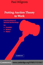 """Putting Auction Theory to Work"" (9780511162572)"