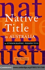 """Native Title in Australia"" (9780511162664)"