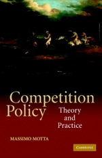 """""""Competition Policy"""" (9780511162701)"""