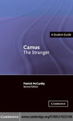 """Camus: The Stranger"" (9780511162800)"