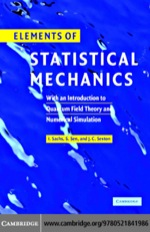 "Elements of Statistical Mechanics"" (9780511166570)"