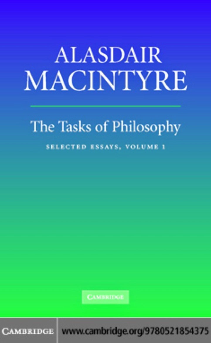 The Tasks of Philosophy: Volume 1