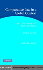"""""""Comparative Law in a Global Context"""" (9780511166785)"""