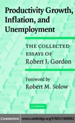 """""""Productivity Growth, Inflation, and Unemployment"""" (9780511189463)"""