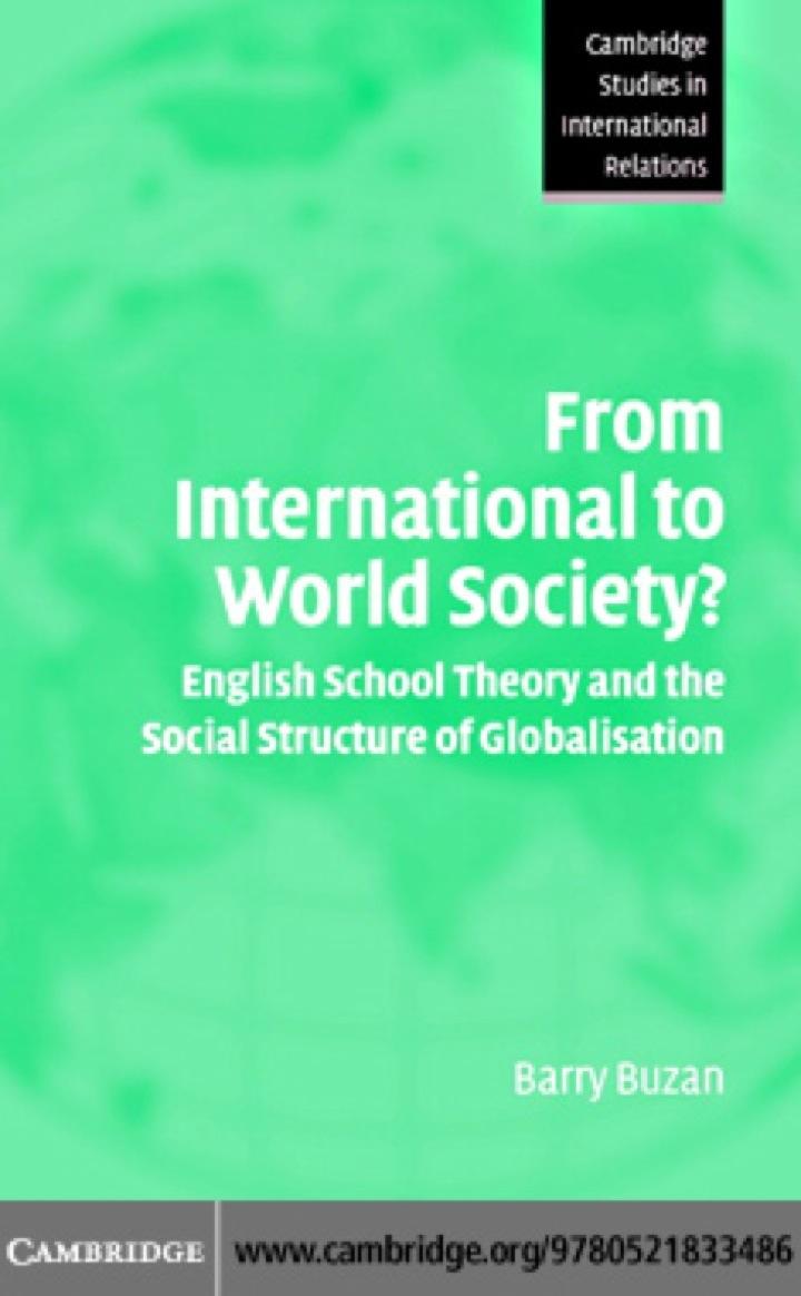 From International to World Society?