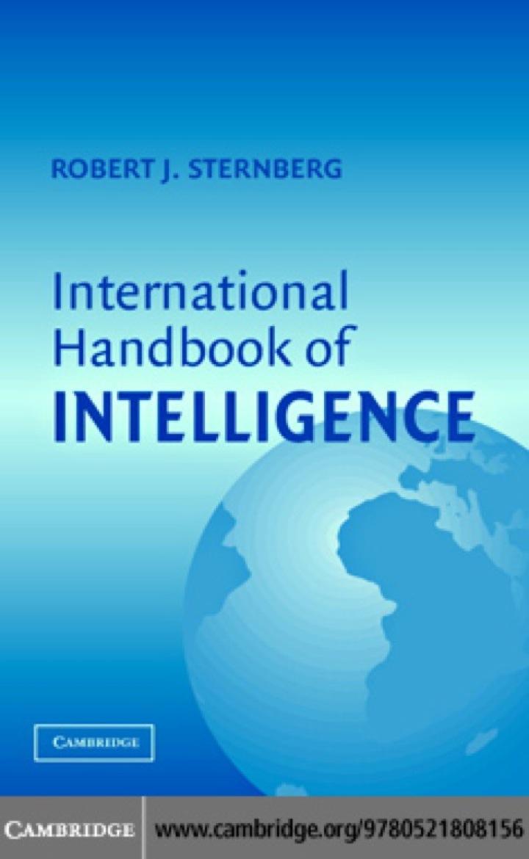 International Handbook of Intelligence