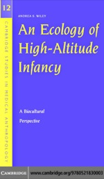 """""""An Ecology of High-Altitude Infancy"""" (9780511189722)"""