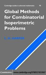 """Global Methods for Combinatorial Isoperimetric Problems"" (9780511189746)"