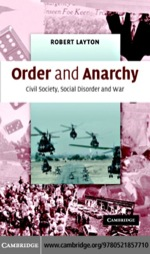 """""""Order and Anarchy"""" (9780511190100)"""