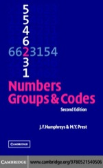 """""""Numbers, Groups and Codes"""" (9780511192043)"""