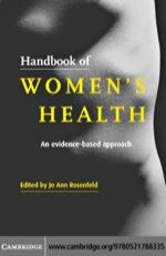 """""""Handbook of Women's Health"""" (9780511192067)"""