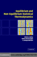 """""""Equilibrium and Non-Equilibrium Statistical Thermodynamics"""" (9780511192289)"""