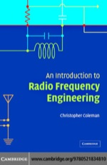 """""""An Introduction to Radio Frequency Engineering"""" (9780511192562)"""