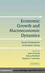 """Economic Growth and Macroeconomic Dynamics"" (9780511192586)"