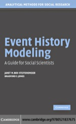 """Event History Modeling"" (9780511192630)"