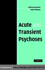 """""""Acute and Transient Psychoses"""" (9780511206818)"""