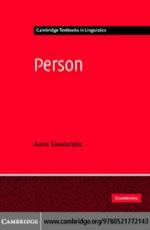 """""""Person"""" (9780511206955)"""