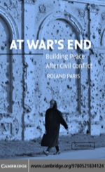 """At War's End"" (9780511207143)"