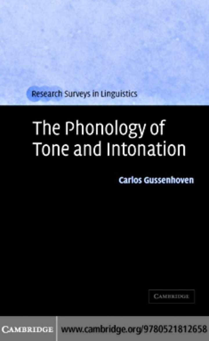 The Phonology of Tone and Intonation