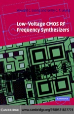 """""""Low-Voltage CMOS RF Frequency Synthesizers"""" (9780511207778)"""
