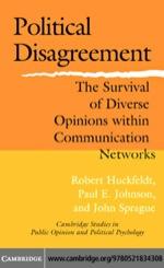 """""""Political Disagreement"""" (9780511208256)"""
