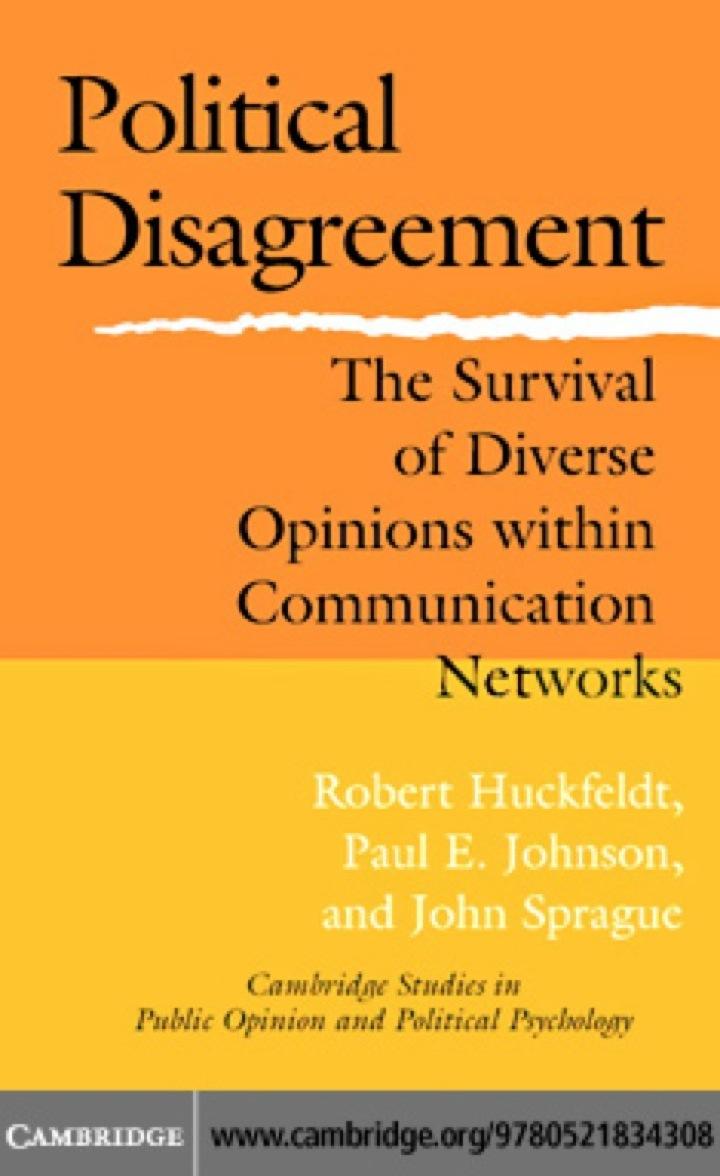 Political Disagreement