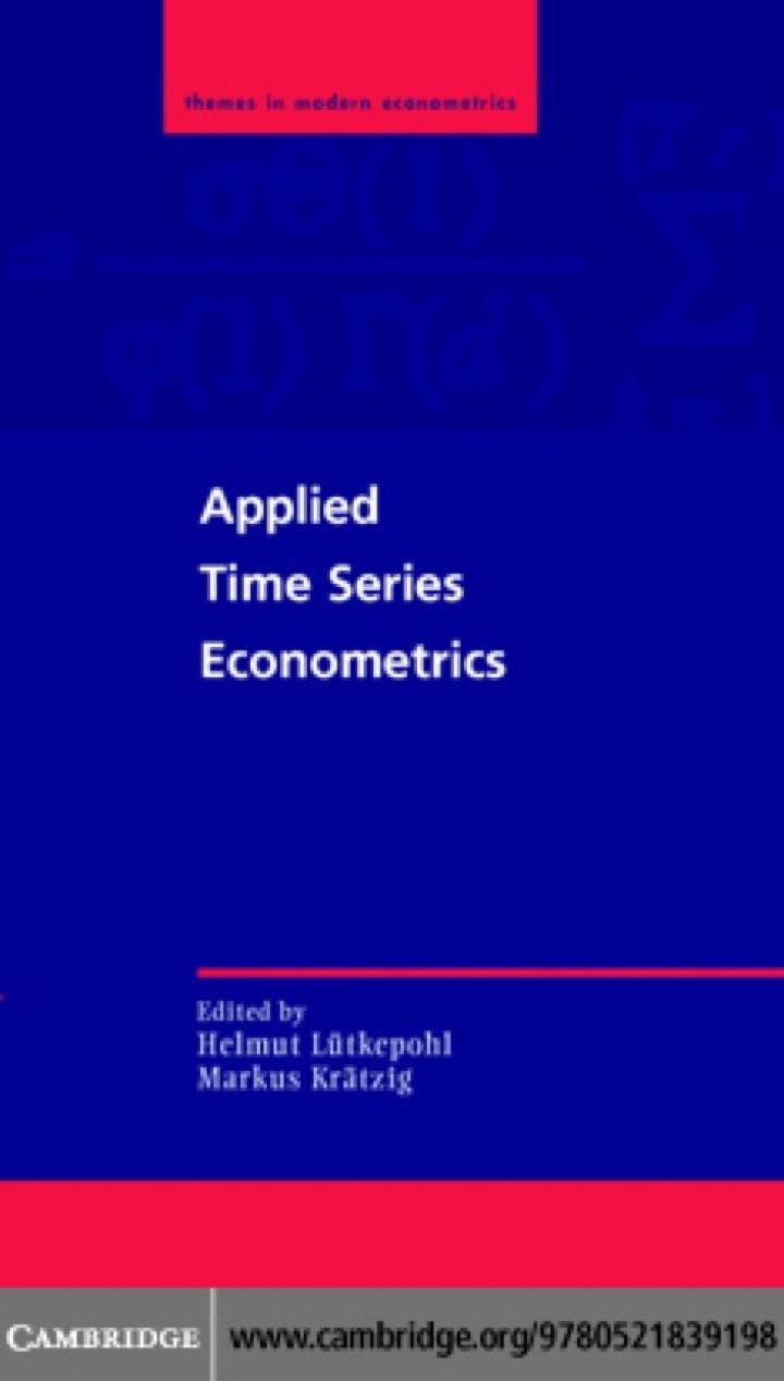 Applied Time Series Econometrics