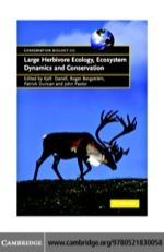 """Large Herbivore Ecology, Ecosystem Dynamics and Conservation"" (9780511217548)"