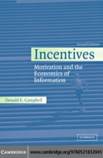 """""""Incentives"""" (9780511217562)"""