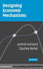 """Designing Economic Mechanisms"" (9780511217586)"
