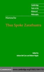 """""""Nietzsche: Thus Spoke Zarathustra"""" (9780511217654)"""