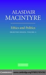 """""""Ethics and Politics: Volume 2"""" (9780511217869)"""