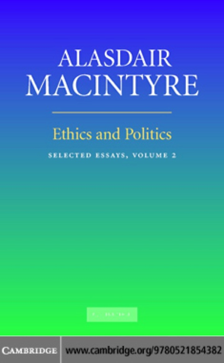 Ethics and Politics: Volume 2
