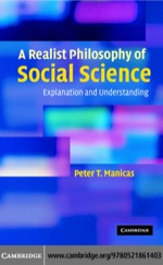 """""""A Realist Philosophy of Social Science"""" (9780511218002)"""