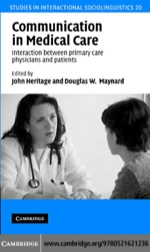 """Communication in Medical Care"" (9780511222689)"