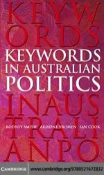 """Keywords in Australian Politics"" (9780511222702)"