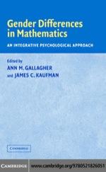 """Gender Differences in Mathematics"" (9780511222825)"