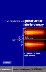 """An Introduction to Optical Stellar Interferometry"" (9780511222863)"
