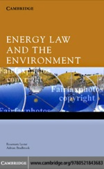 """Energy Law and the Environment"" (9780511222924)"