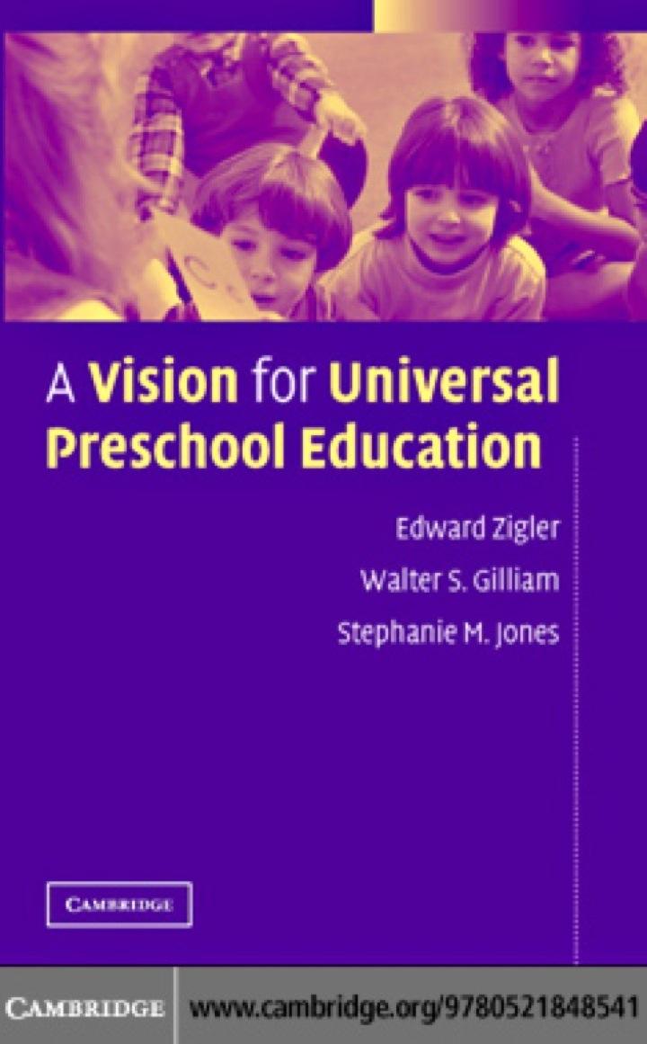 A Vision for Universal Preschool Education