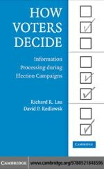 """How Voters Decide"" (9780511222993)"