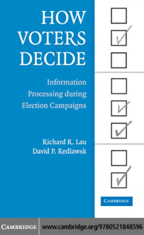 How Voters Decide