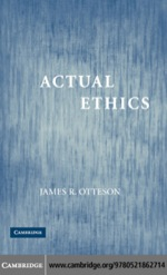 """""""Actual Ethics"""" (9780511223228)"""